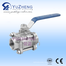 Ss Floating 3PC Thread Ball Valve
