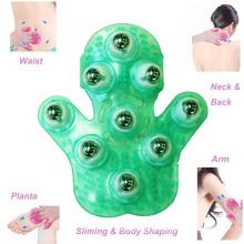 Massager Handheld mágico do corpo das luvas da massagem do emagrecimento