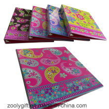 "Customized 1 "" View Ring Binder Printing PVC 3 Ring Binders"