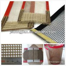 ptfe teflon coated fiberglass mesh conveyer belt