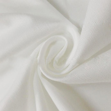 65 Polyester 35 Cotton Twill White Fabric