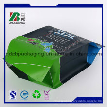 New Products Resealable Quad Sealed Pet Food Bag