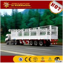 Caminhão resistente caminhões e reboques do reboque do caminhão da cama do baixo reboque de 70 toneladas baixos do leito semi