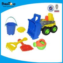 Brinquedo de verão, brinquedo de veículo de construção de praia