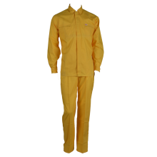 OEM China High quality for Basic Cotton Work Suit 100% Twill Yellow Industrial Work Suit export to South Korea Suppliers