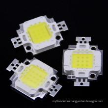10W Белый/теплый белый 9.0-12.0 в 800-900lm светодиодная Интегрированная высокая мощность светодиодный бисер