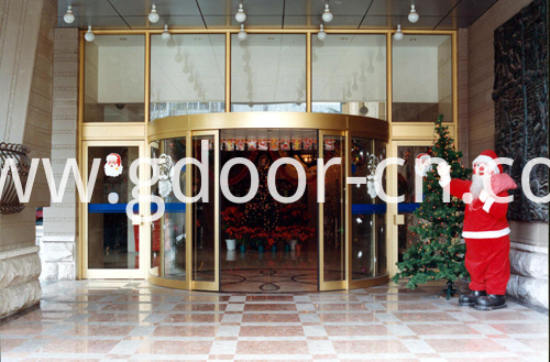 Hotel Entrances with Automatic Curved Sliding Doors
