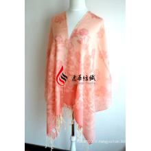 Châle imprimé en laine (12-BR020302-40)