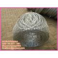 BT0-22 concertina razor barbed security welded wire mesh fence
