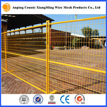 3.5mm 50X100mm Mesh 6X9.5FT Powder Coated Temporary Fence