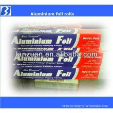 rollo de papel de aluminio de empaquetado de alimentos