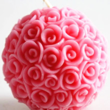 Doft Favoriter Bröllop Event Decoration Rose Balls ljus