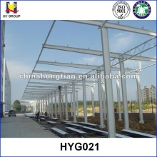 Prefabricated steel structure car parking roof