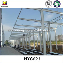 Prefabricated steel structure car parking garage shades
