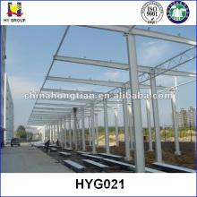 Estruturas de garagem pré-fabricadas em aço estrutura de garagem