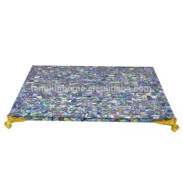 MOP shell table mat