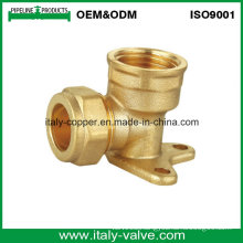 OEM&ODM Quality Brass Forged Compression Wall Pallet Elbow (AV70026)