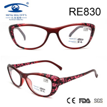 2017 Wholesale Flower Patten Women Fashion Reading Glasses (RE830)