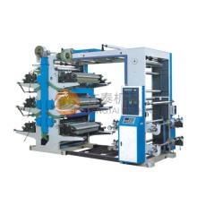 Máquina de impressão flexográfica de seis cores