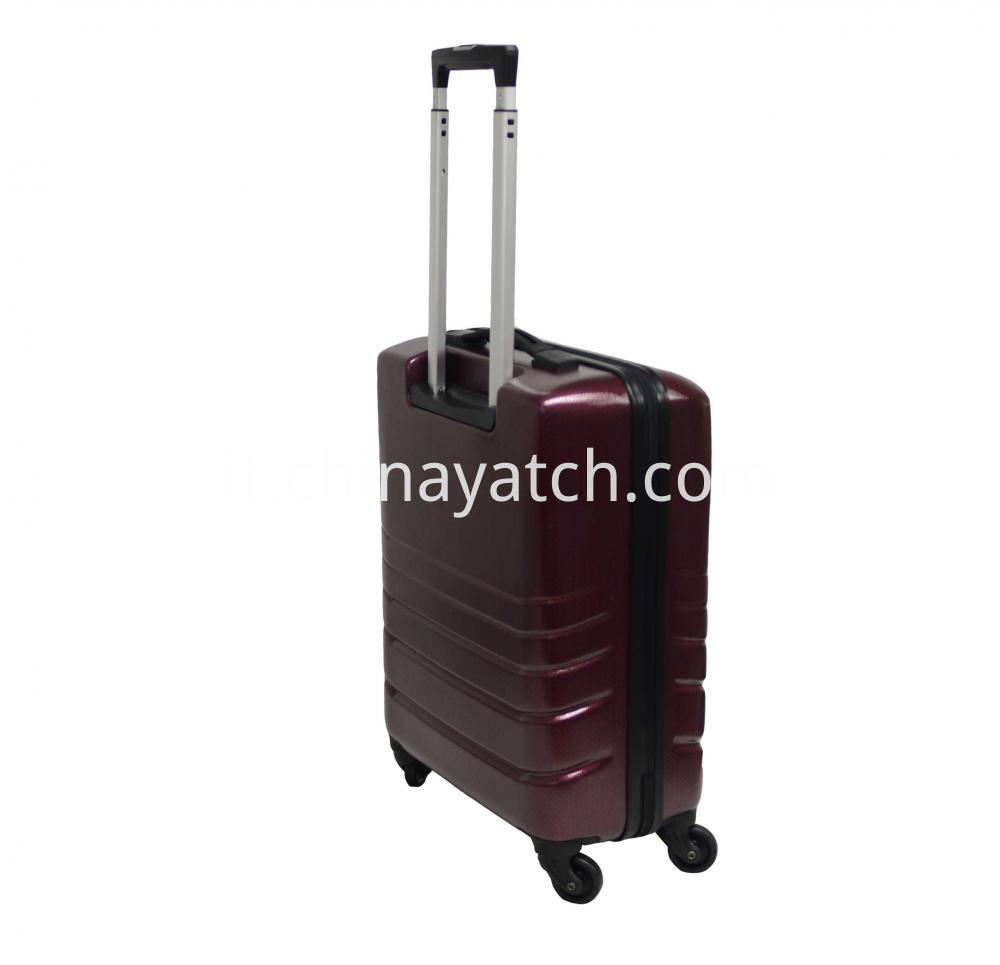 Abs& Pc Alloy Luggage Set