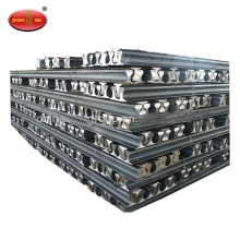 Hot rolled U71Mn 50kg/m train railway steel rail
