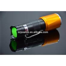 Zoom dimmer led flashlight, перезаряжаемый светодиодный фонарик, t6 led flashlight