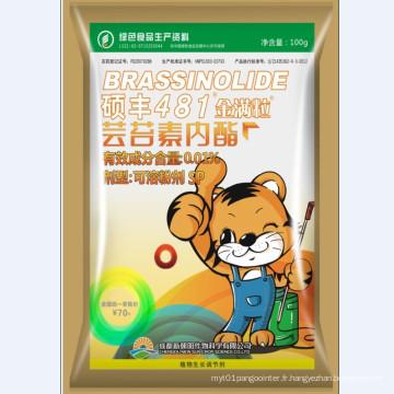 Brassinolide naturel 0,01% Poudre soluble dans l'eau