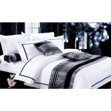 Hotel Bedding Set with Bed Sheet Fitted Sheet Pillowcases Bed Linen Set China