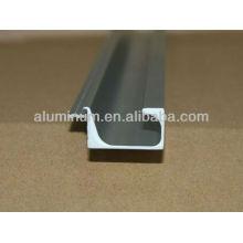 Perfiles de extrusión de aluminio / 6063-T5 muebles perfil de aluminio / perfiles de aluminio de cocina
