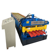 Dixin Glazed Tile Sheet Metal Roofing Machine