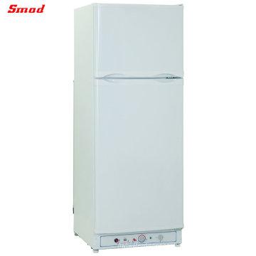 SMAD Absorption Upright LPG Kerosene Refrigerator and Freezer 110V Electric Propane Gas Fridge