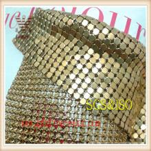 Malla de cortina metálica decorativa para la venta
