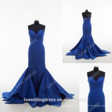 RP0169 Gorgeous falda de trompete azul royal causel 2016 formal de alta qualidade sereia estilo vestidos de baile de formatura