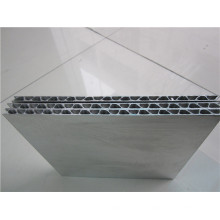 Gewölbte Aluminiumplatten Metalldämmplatten