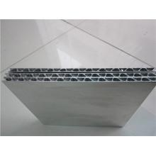Painéis de alumínio ondulado Painéis de isolamento de metal