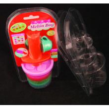 Limpar plástico PVC PET Clam shell Blister embalagem Box (pacote)