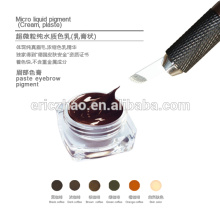 Goochie paste pigment for 3D Embroidery Eyebrow Tattoo