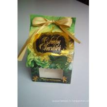 Boîte-cadeau / boîte de papier / boîte de gâteau de Kraft / boîte de nourriture