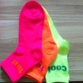 Néon lumineux couleur exceptionnelle on dirait Fashion Lady chaussettes