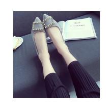 Dedo do pé afiado Sapatos femininos Sapatos casuais Sapatos de lazer