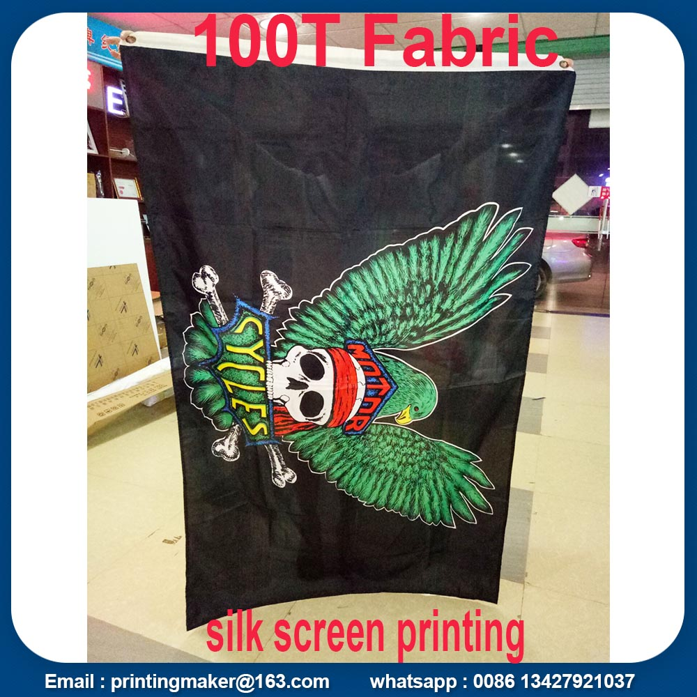 mirror printed polyester flags