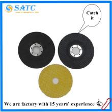 almohadilla de respaldo de fibra de vidrio para disco de aleta para disco de aleta de aluminio