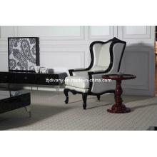 Sofa de cuir en bois post-moderne loisirs (LS-120)
