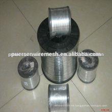Alambre de acero electro galvanizado