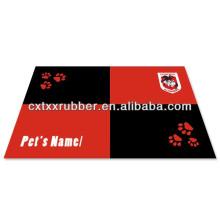 Borracha custom print dog dinner placemats