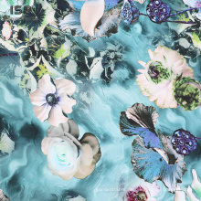 Neues Produkt 100% Rayon Satin Stoff für Kleid