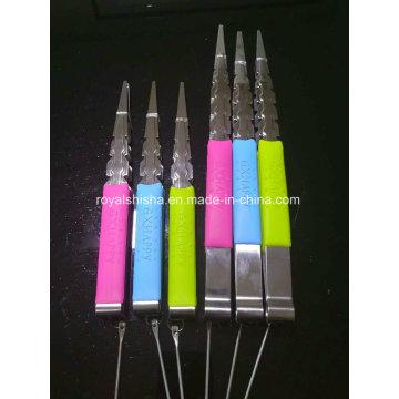 Nuevos accesorios de la cachimba del clip de los accesorios Pinzas de carbón de Shisha