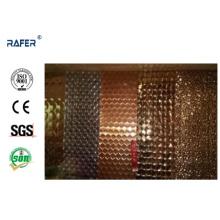 Глубоко выбитые холоднокатаной стальной лист dc01 сталь с красивый дизайн (РА-C035)