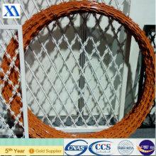 Alambre de espino de la bobina del Concertina para la cerca del protector (XA-RBW7)