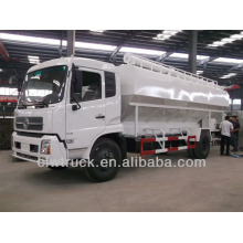 18-22m3 bulk feed discharge trucks dongfeng bulk feed delivery truck